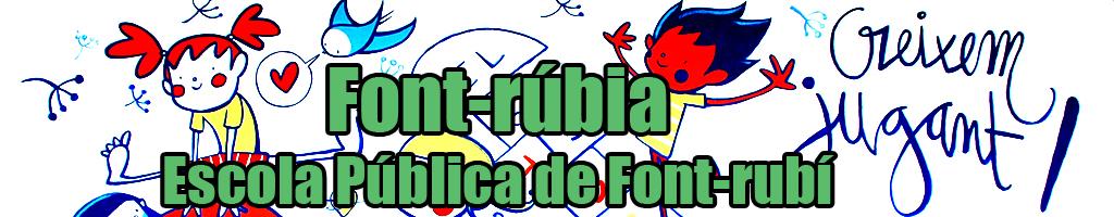 Font-rúbia